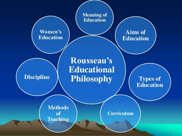 rousseau theory of education Rousseau and educational philosophy - free download as word doc (doc /  docx), pdf  education : iii) theory of negative education  rousseau.