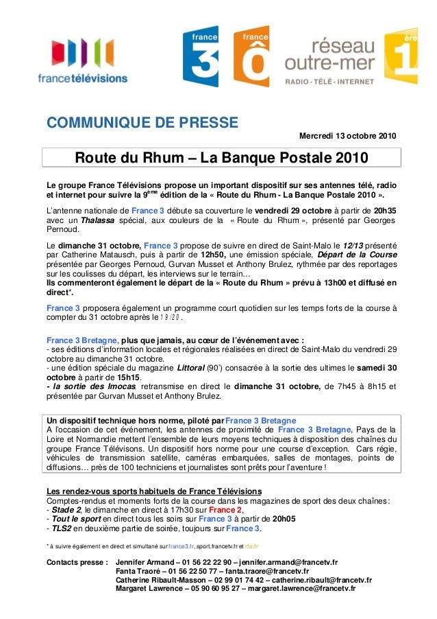 Contacts presse : Jennifer Armand – 01 56 22 22 90 – jennifer.armand@francetv.fr Fanta Traoré – 01 56 22 50 77 – fanta.tra...