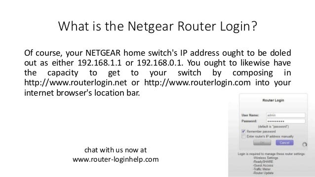 What is the Netgear Router Login?