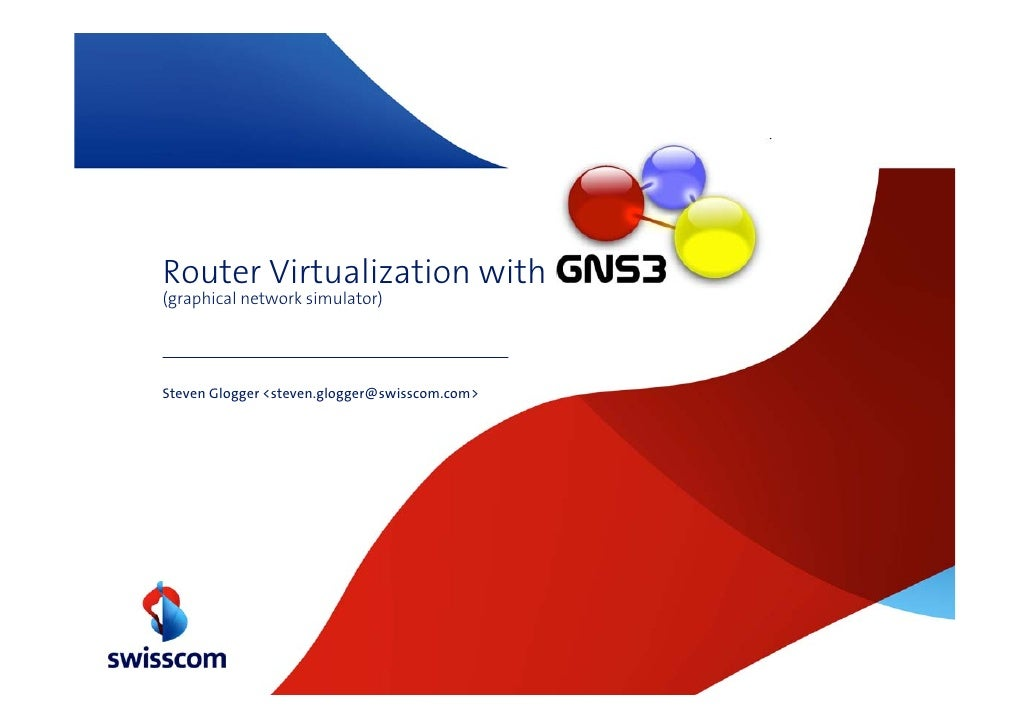 Router Virtualization With GNS3
