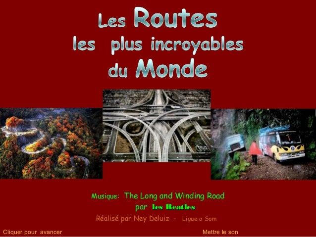 Musique: The Long and Winding Road par les Beatlesles Beatles Réalisé par Ney Deluiz - Ligue o Som Cliquer pour avancer Me...