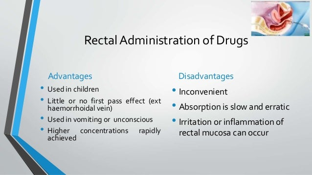 Routes of drug administration for bns 1st year