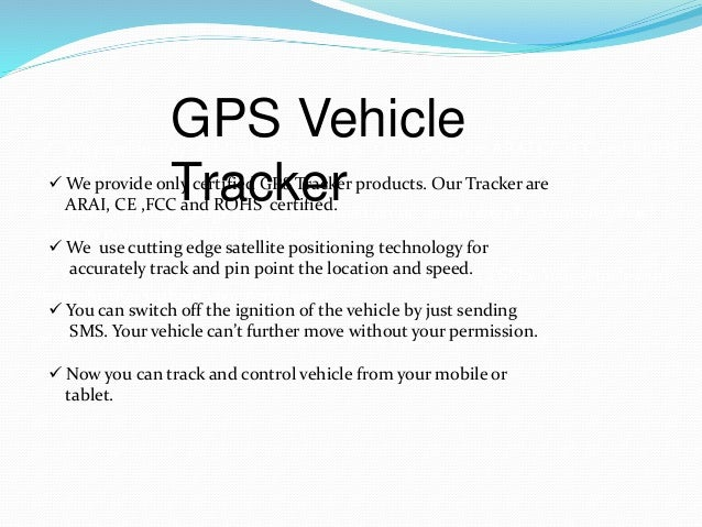 Route tracking device