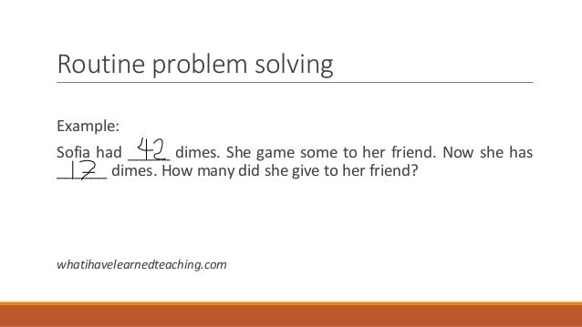 Non-routine problem solving in math | upper elementary snapshots.