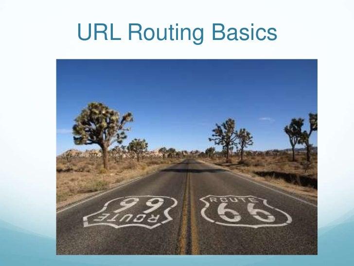 URL Routing Basics