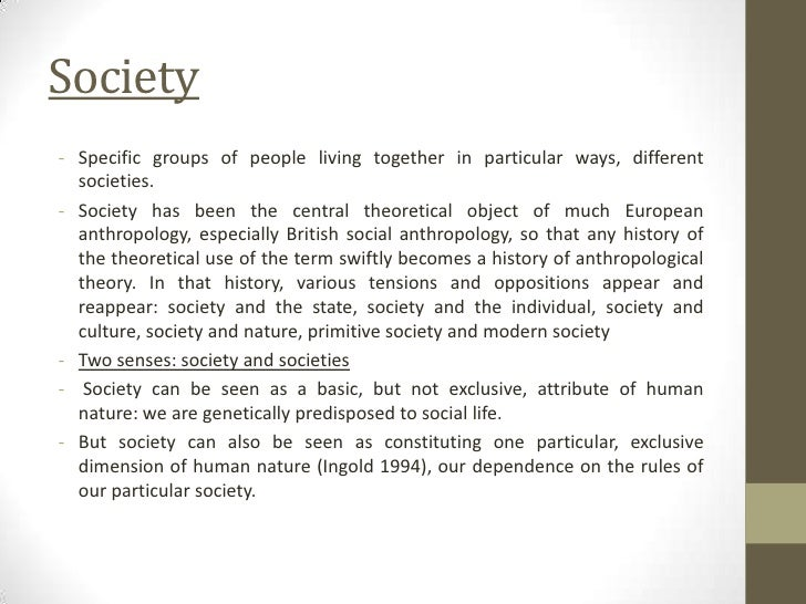 An analysis of the different views on cultures from a social anthropology standpoint