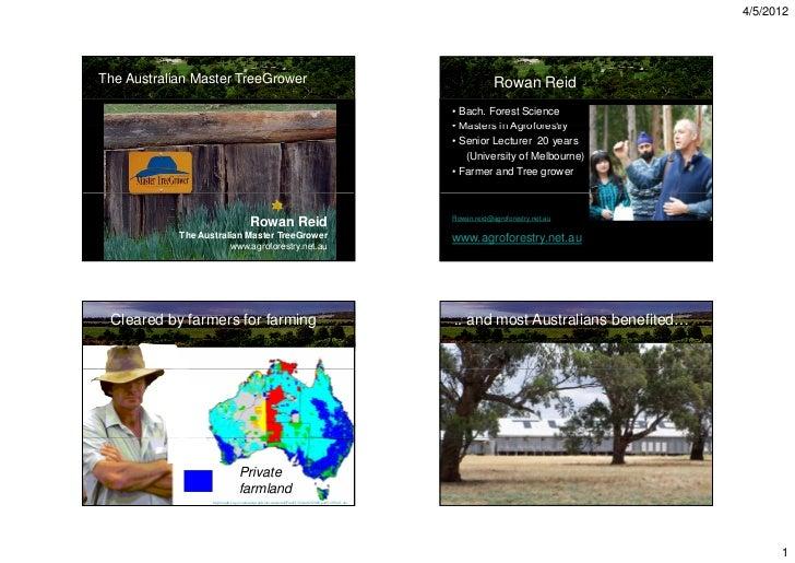 4/5/2012The Australian Master TreeGrower                                                                                  ...