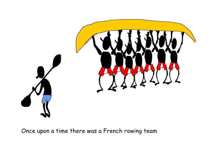 Once upon a time there was a French rowing team
