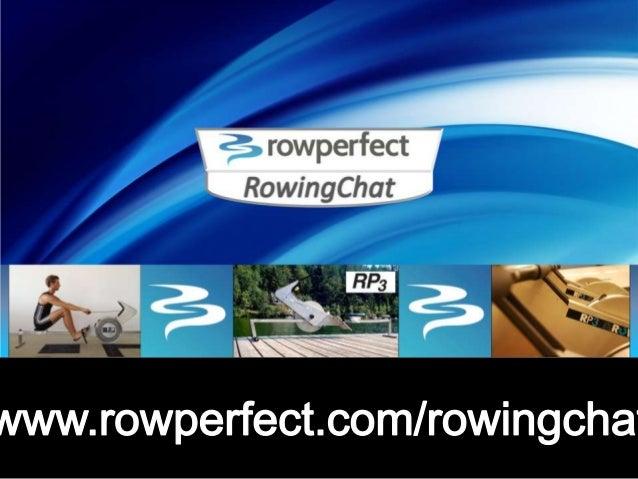 Rowingchat Scott Frandsen october 2013 slideshare slides