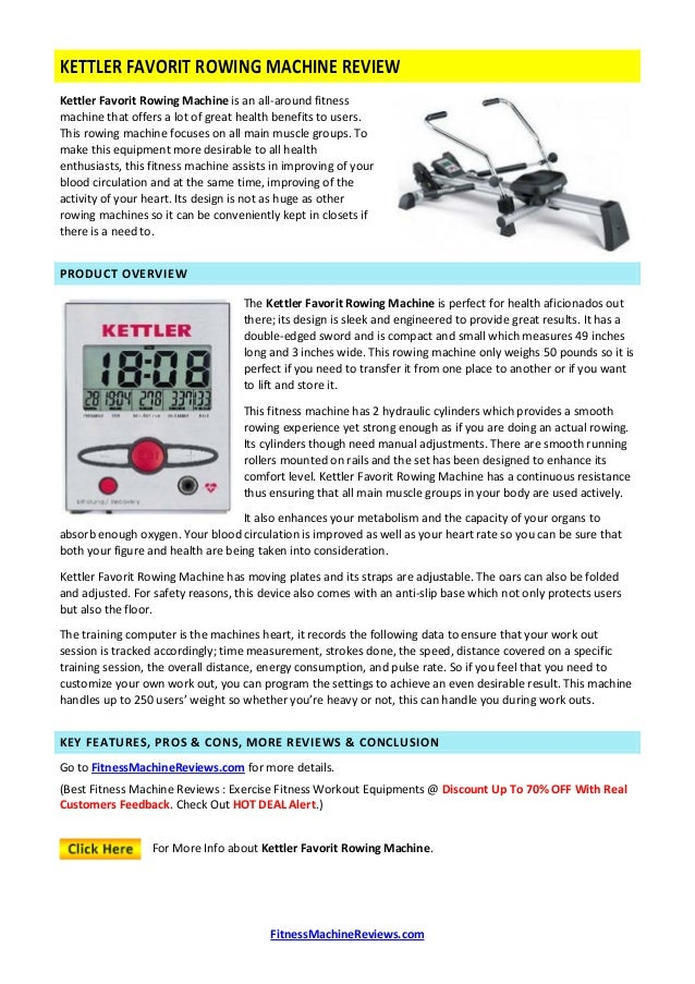 health and fitness rowing machine reviews