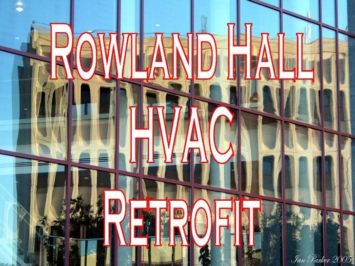 Rowland Hall HVAC Retrofit