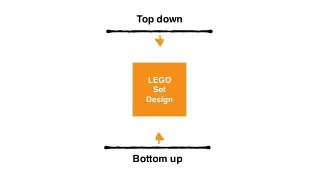 design vs bottom up top down