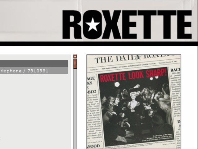 Roxette became a cult  band over the coming    years, they toured   the world, sold out  stadiums and rose to          the...