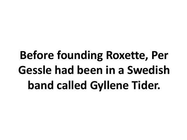 The group was huge in Sweden in 1979-81.