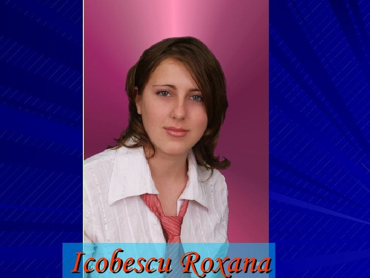 Icobescu Roxana