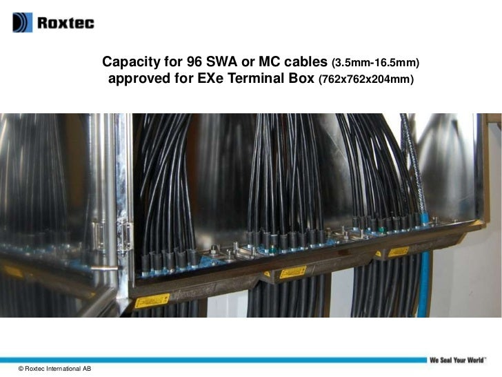 Roxtec Mct Cable Entry Solutions For Process Industries