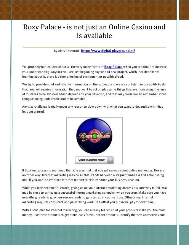 roxy palace online casino www kostenlosspielen net