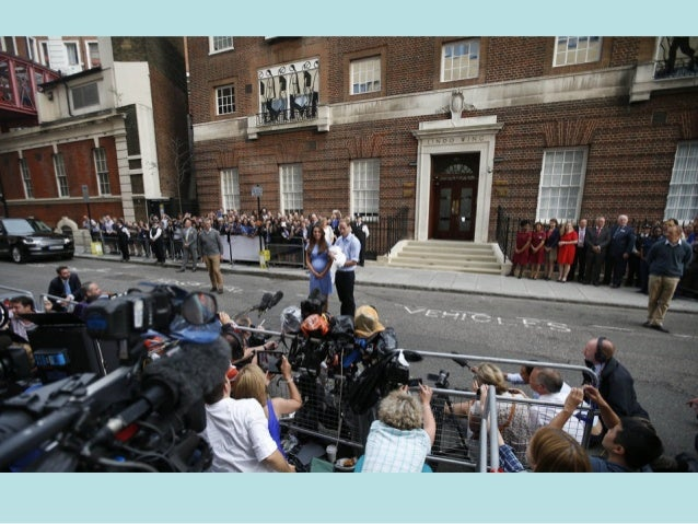 Prince Charles and his wife Camilla, Duchess of Cornwall arrive at the Lindo Wing of St Mary's Hospital the day after Cath...