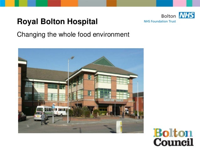 Royal Bolton Hospital Changing the whole food environment