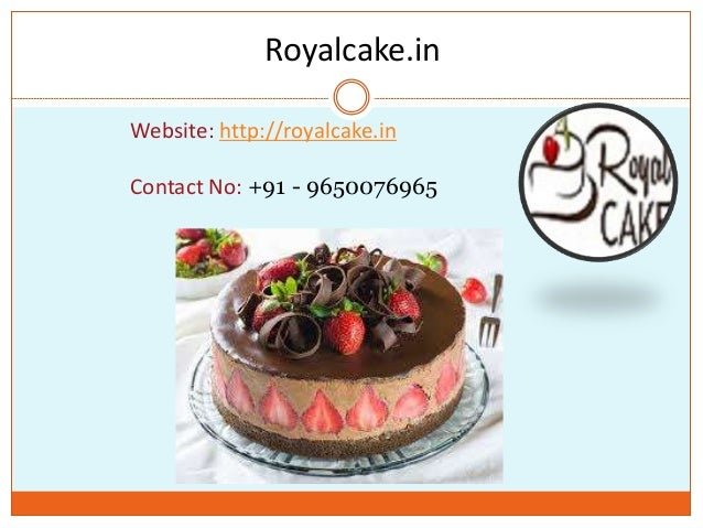 Online Cake Home Delivery At Midnight By Royal