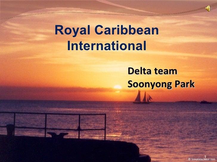 Royal Caribbean International Delta team Soonyong Park