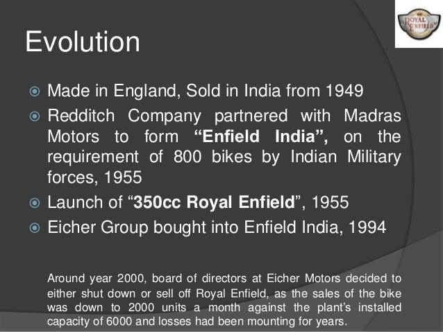 Royal enfield presentation