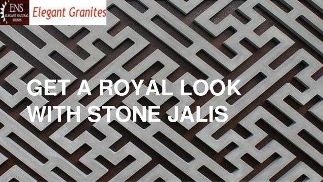Royal Look With Marble Stone Jali