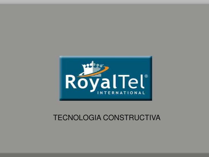 TECNOLOGIA CONSTRUCTIVA<br />
