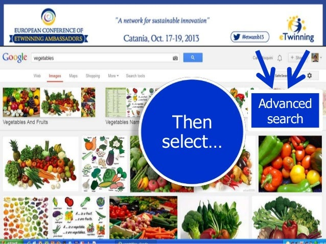 And customize your search settings  Clicking…  Find images that you are free to use