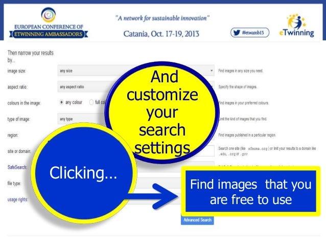Then click… Advanced search