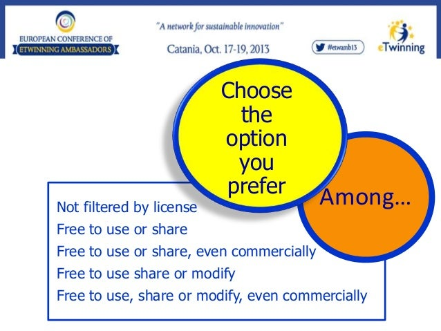 Before reusing content that you've found…  Check the exact terms of reuse stated in the license