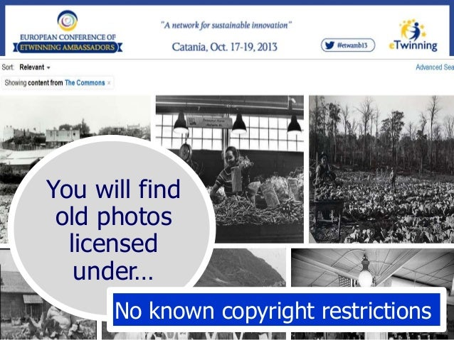 Go to:  To try the CC-Search page  http://creativecommons.org/