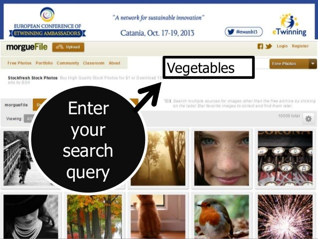 Where do you get images for your presentations? Please add your answer here http://answergarden.ch/view/71054