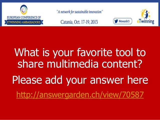 How to use and share multimedia content