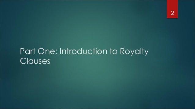 Royalty litigation - Chris Halgren Slide 2