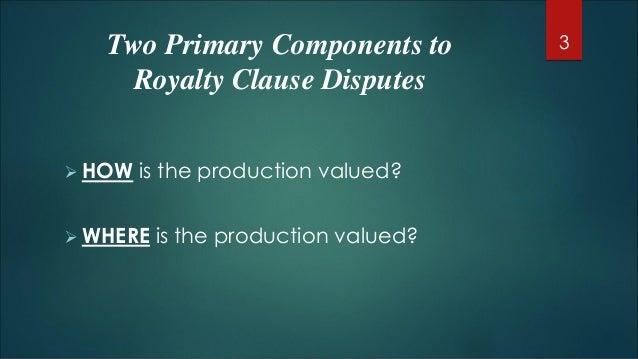Royalty litigation - Chris Halgren Slide 3