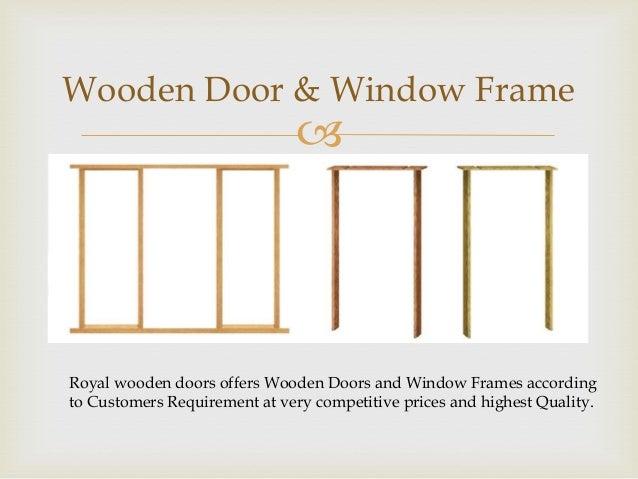 Royal wooden doors bangalore - supplier of Burma Teak Doors, Designer…