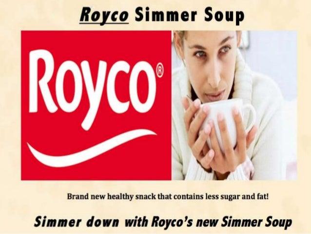 royco minute soup case study 72