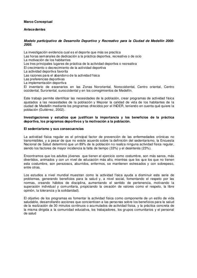 Proyecto de recreaci n y tiempo libre - Proyecto club deportivo ...