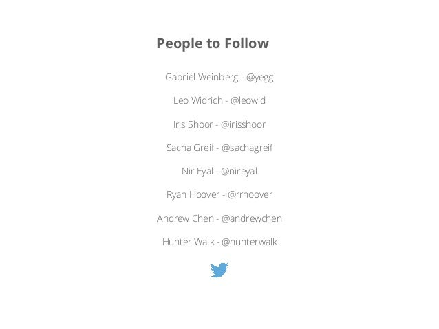Follow Followers of influences