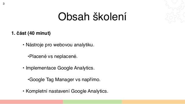 Rozdíl mezi webovou analytikou a počítadlem návštěvnosti Slide 3