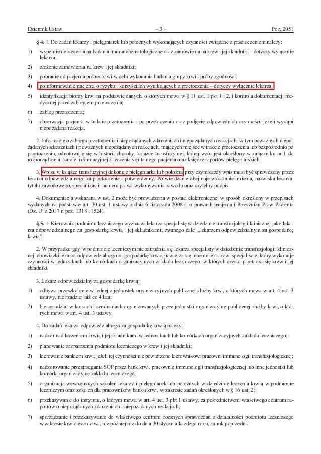 Rozporządzenie Minzdrawu: leczenie_krwia Slide 3