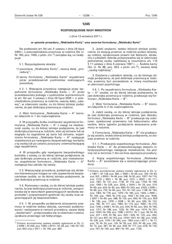 Dziennik Ustaw Nr 209                                          — 12266 —                                                  ...