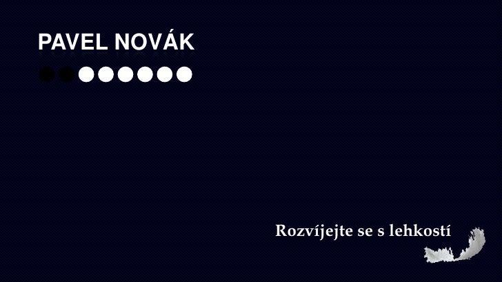 Pavel Novák<br />Rozvíjejte se s lehkostí<br />
