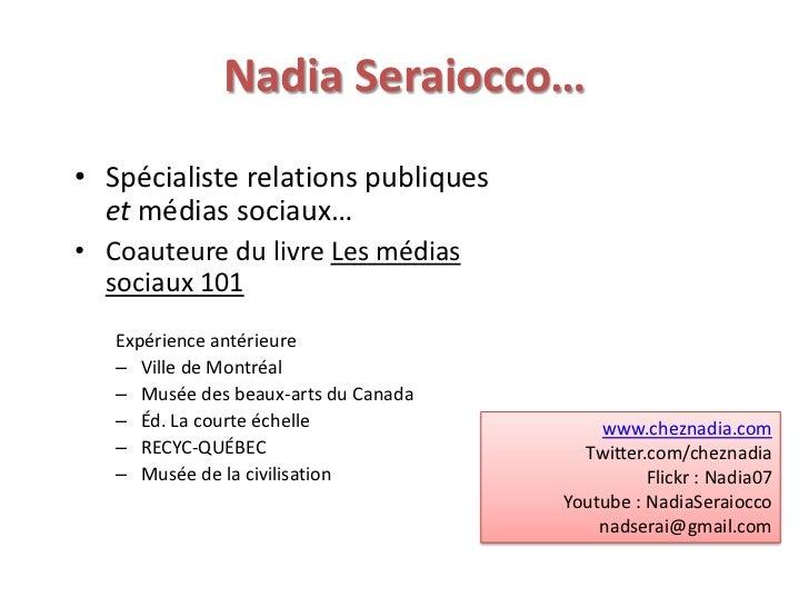 Les médias sociaux, ANEL Slide 2