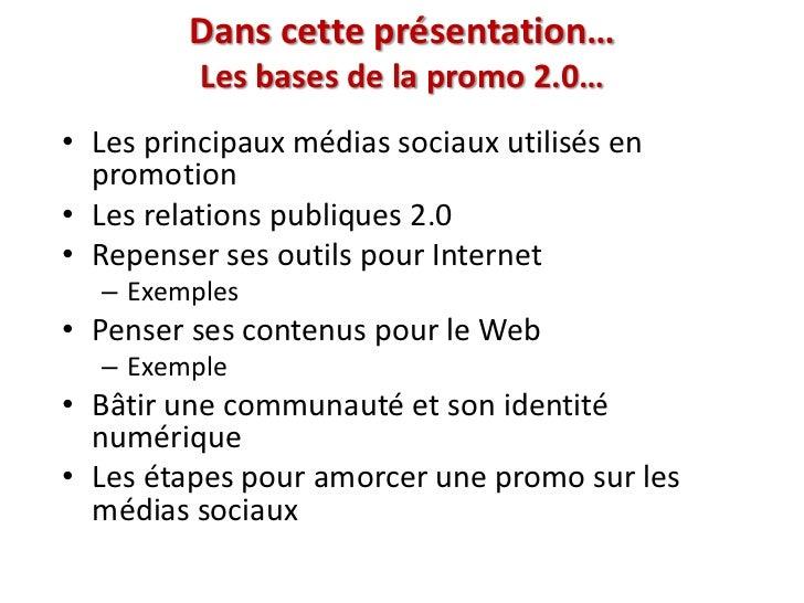 Les médias sociaux, ANEL Slide 3