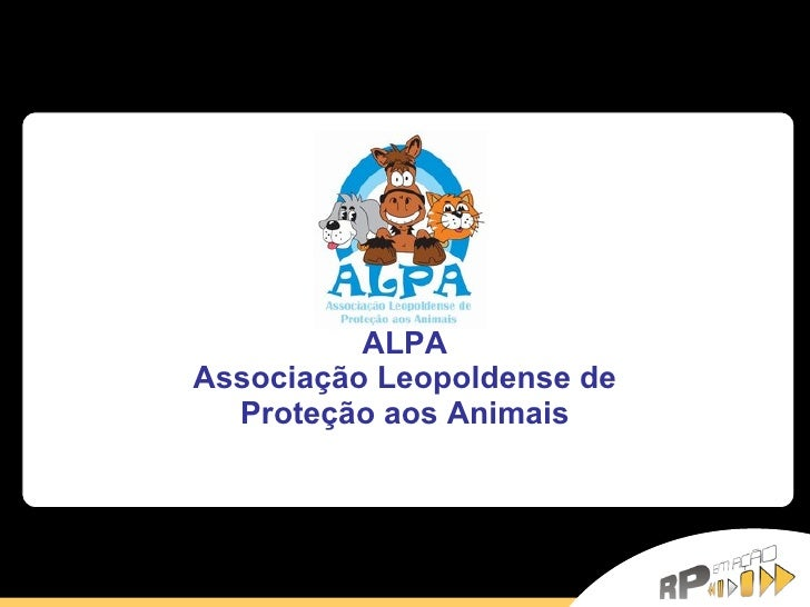 ALPA Associação Leopoldense de Proteção aos Animais
