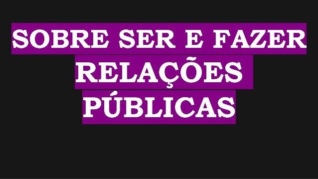 Taís Oliveira Taís Oliveira @tais_so @tais_so Formada em Relações Públicas <3 pela FAPCOM (2011) e mestranda em Ciências H...