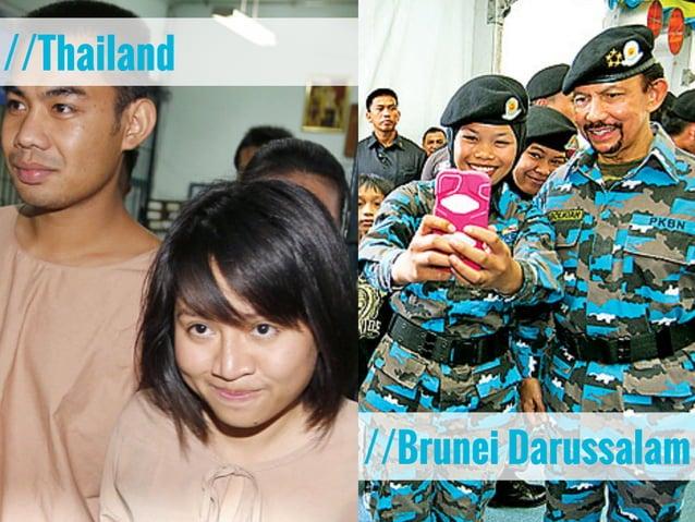 //Thailand //Brunei Darussalam
