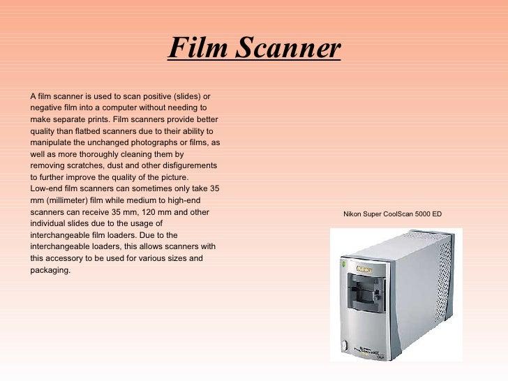 Rp1 John Rosado, Scanner Technology